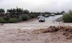 مسیر دهلران به مهران مسدود شد+فیلم