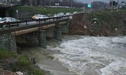 سیلاب اخیر خط انتقال آب گنجتپه همدان را برد
