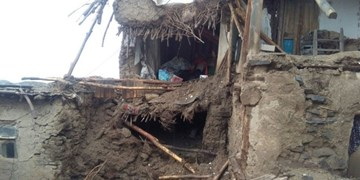 تخریب 15 خانه کاهگلی در رزن/ یک دامپروری با 70 رأس دام خراب شد