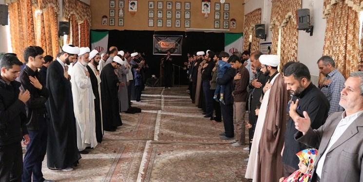 مراسم عزاداری سالروز شهادت امام کاظم (ع) و گرامیداشت روز جمهوری اسلامی در اردکان برگزار شد