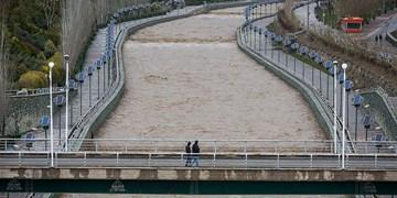 انسداد مسیلها و رودخانهها در اثر رانش زمین در هنگام بارندگی