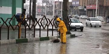 هشدار آبگرفتگی معابر و صاعقه و برق گرفتگی در ارتفاعات/عبور از جادههای آبگرفته ممنوع