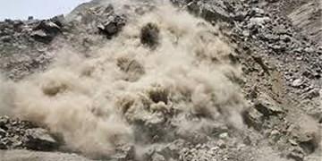 ریزش کوه تبریز را تهدید میکند/ وضعیت ناگوار 100 خانوار در شهرک باغمیشه کوه فرو ریخته