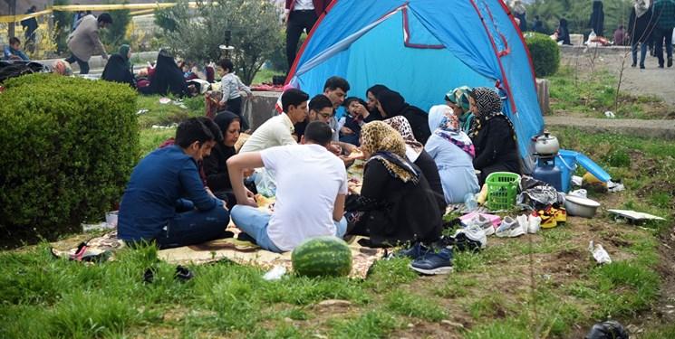 ممنوع بودن چادرخوابی در مازندران