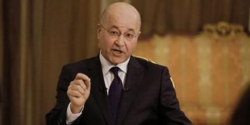 صالح در دیدار سفیر انگلیس: عراق مکان تسویه حساب کشورها نیست