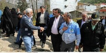 آخرین اخبار خرابیهای سیل در سوادکوه و اقدامات انجام شده + تصاویر