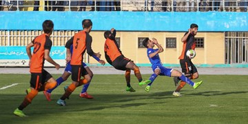 لیگ دسته اول فوتبال|شکست آلومینیوم اراک و خوشه طلایی ساوه