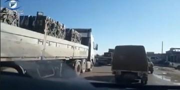 ائتلاف آمریکا 50 کامیون سلاح به سوریه ارسال کرد