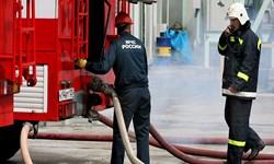 آتش سوزی در نیروگاه برق بعثت بدون مصدوم خاموش شد