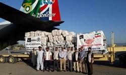 ارسال نخستین محموله کمکهای مردم پاکستان به سیلزدگان ایران