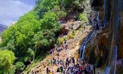 سفر به مرتفعترین آبشار چشمهای جهان در فارس/ از پلوهکل تا نان کلک