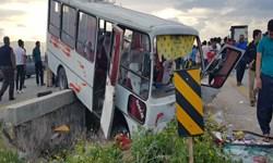 جزئیات تصادف سرویس دانشآموزان در محور فسا