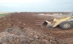 توقف عملیات خاکبرداری غیرقانونی در اراضی ملی لامرد
