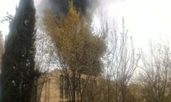 آتشسوزی دانشگاه اصفهان مربوط به ضایعات بود