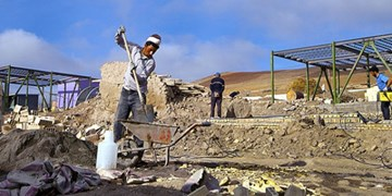 آخرین وضعیت بازسازی مناطق زلزله زده خوی و سلماس