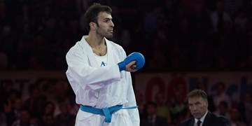 نشان طلا ارمغان عسگری از لیگ جهانی کاراته وان