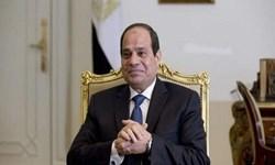 رئیس جمهور مصر با شاه اردن دیدار کرد