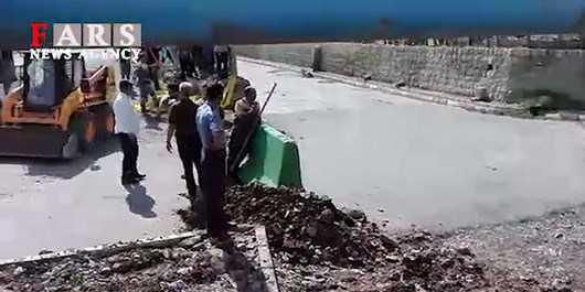 فیلم| جاری شدن آب در رودخانه باقرآباد قرچک پس از 17سال