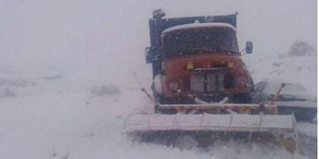 بارش اولین برف پائیزی در استان اردبیل