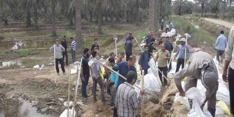 حضور ۲۰۰ نفر از پرسنل سپاه در مناطق سیلزده / آماده بازسازی منازل سیلزدگان هستیم