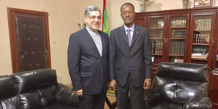 دیدار سفیر ایران با وزیر دادگستری موریتانی