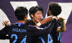 صدرنشینی تیم ژاپنی با غلبه بر نماینده کرهجنوبی
