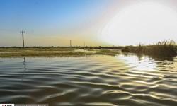 ادامه آبگرفتگی در سه روستای شادگان