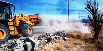 رفع تصرف 215هکتار از اراضی ملی در زاهدان