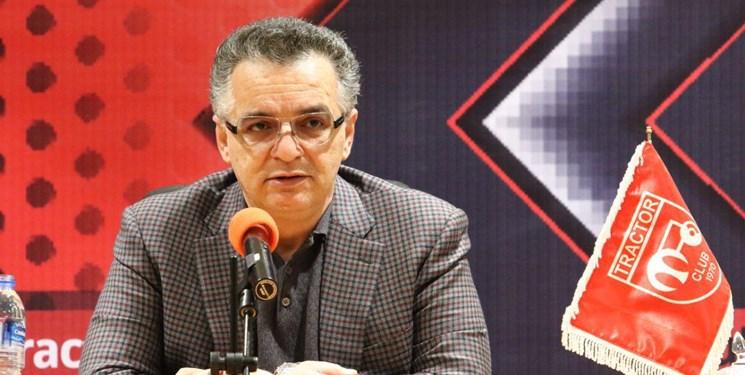 زنوزی: واگذاری باشگاه تراکتور کذب است/تیمی قویتر از گذشته را خواهم بست