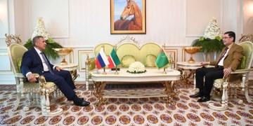 گفتوگوی رؤسای جمهور ترکمنستان و تاتارستان؛ افزایش همکاری محور رایزنی