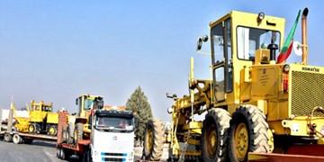 اضافه شدن 18 دستگاه ماشینآلات جدید به ناوگان راهداری مازندران