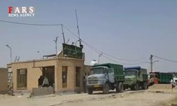 فیلم| صف طولانی تحویل گندم در دشت آزادگان