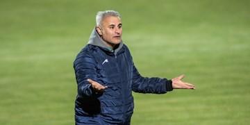 خرمگاه: نورافکنها را بردند و تمرکز تیم را به هم زدند/ منصوریان به وزیر ورزش پیام داد