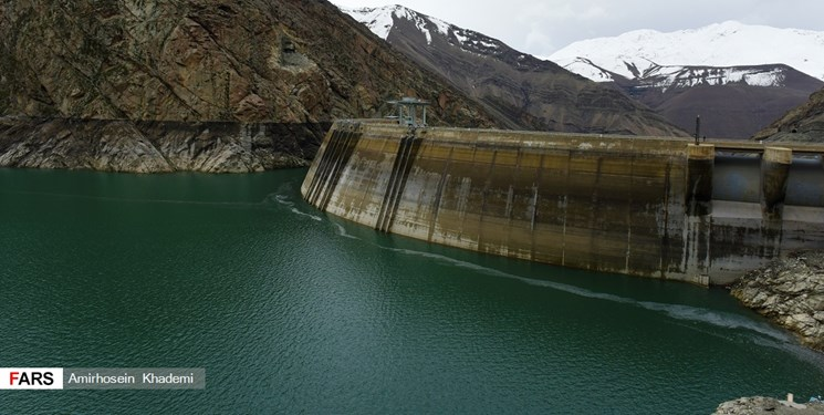 ۲۶ سد کشور کمتر از ۴۰ درصد آب ذخیره دارند