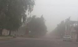 هوای فهرج در وضعیت خطرناک/راه ارتباطی ۹۰ روستای ریگان مسدود شد