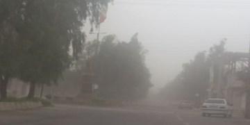 وزش باد و گرد و غبار در راه کرمانشاه/ پایان هفته هوا گرم میشود
