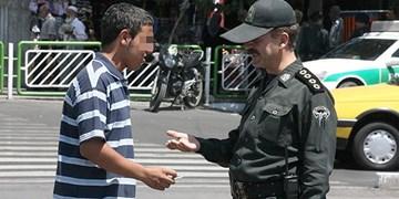برخورد پلیس با هنجارشکنان در ماه رمضان