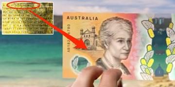 غلط املایی در اسکناسهای جدید ۵۰ دلاری استرالیا