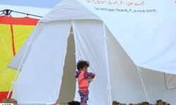 852 نفر همچنان در اردوگاههای اسکان اضطراری خوزستان ساکن هستند