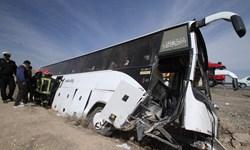 امدادرسانی به 7 مصدوم سانحه رانندگی محور سیرجان - شیراز
