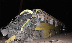۴کشته و ۱۴مصدوم درواژگونی اتوبوس دراصفهان