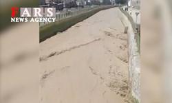 فیلم| جاری شدن آب در رودخانههای دشت ورامین