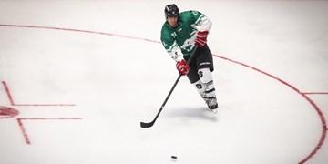 مسابقات هاکی روی یخ دوبی| پیروزی نماینده ایران در گام اول