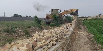 80 مورد ساخت و ساز غیرمجاز در اراضی کشاورزی کرمانشاه تخریب شد