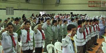 برپایی آئین تکریم و معارفه روسای سازمان دانشآموزی فارس