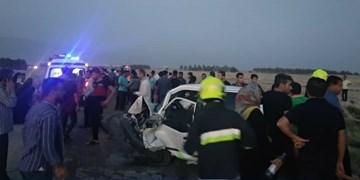 تصادف خونین در محور خورموج / چهار نفر جان باختند