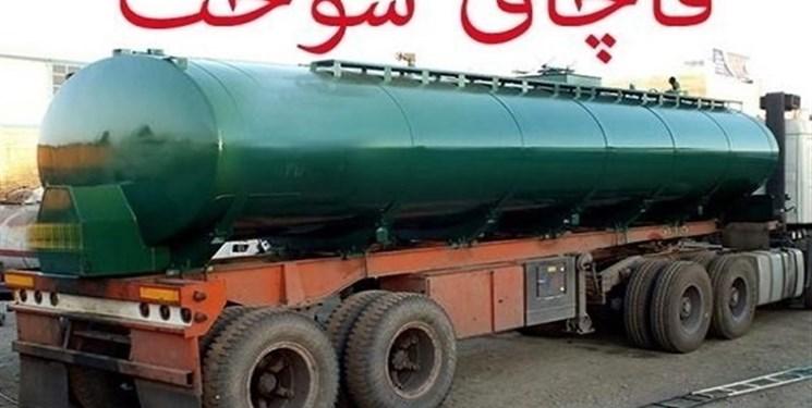 کشف 10 هزار لیتر سوخت قاچاق در ایرانشهر