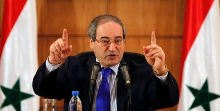 فیصل المقداد: تحریم سزار فقط سوریه را هدف قرار نداده است