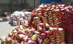 کشف 24 تن برنج قاچاق در ملکان