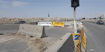 دوربرگردان هفتجوی براساس تائیدیه پلیس راه افتتاح شد/بازگشایی دوربرگردان پس از انجام اصلاحات